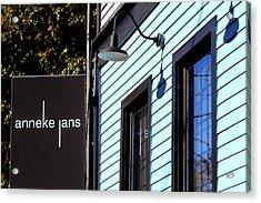 Anneke Jans Acrylic Print