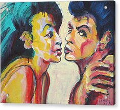 Annette And Frankie Acrylic Print