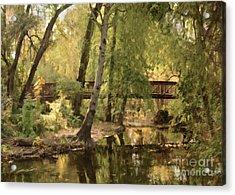 Annie's Glen Bridge Acrylic Print