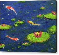 Ann's Pond V Acrylic Print