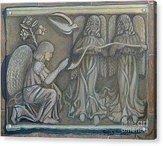 Annunciation - Existing Fragment Acrylic Print