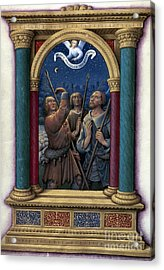Annunciation To Shepherds Acrylic Print by Granger