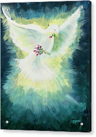 Anointed Acrylic Print