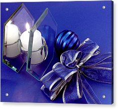Another Blue Christmas Acrylic Print