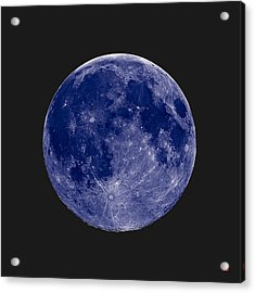 Another Blue Moon Acrylic Print