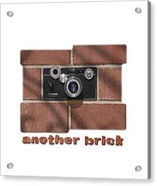 Another Brick . . 2 Acrylic Print by Mike McGlothlen