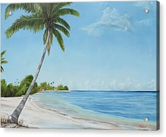 Another Day In Paradise Acrylic Print