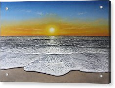 Another Day Acrylic Print by Paul Newcastle