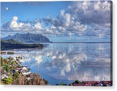 Another Kaneohe Morning Acrylic Print