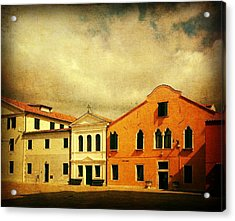 Acrylic Print featuring the photograph Another Malamocco Day by Anne Kotan