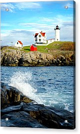 Another Nubble Acrylic Print by Greg Fortier