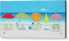 Another Perfect Beach Day Acrylic Print