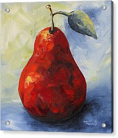 Another Red Pear Acrylic Print