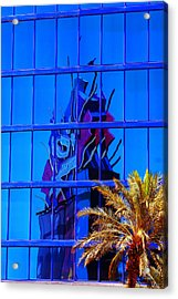 Another Rio Reflection Acrylic Print by Richard Henne