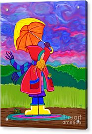 Another Stormy Monday Acrylic Print
