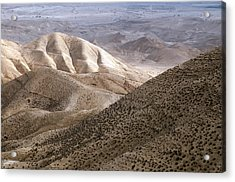 Another View From Masada Acrylic Print