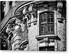 Ansonia Building Detail 36 Acrylic Print by Val Black Russian Tourchin