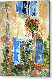 Ansouis Windowbox Acrylic Print