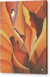 Antelope Canyon 4 - For Gloria Acrylic Print