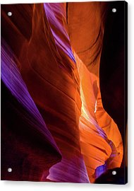 Antelope Canyon Color Acrylic Print by Harry Strharsky