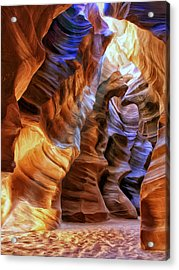 Antelope Canyon Acrylic Print by Dominic Piperata
