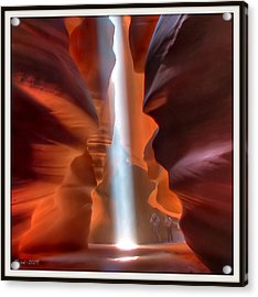 Antelope Canyon Light Acrylic Print