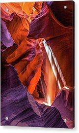 Antelope Canyon Lightshaft 3 Acrylic Print