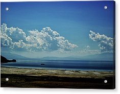 Acrylic Print featuring the photograph Antelope Island, Utah by Cynthia Powell