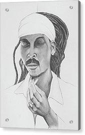 Anthony B - Give Thanks Acrylic Print by Donovan Hubbard