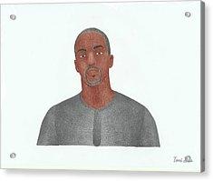 Anthony Mackie Acrylic Print