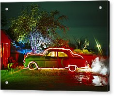 Anthonys Auto Acrylic Print by Garry Gay