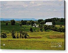 Antietam Battlefield And Mumma Farm Acrylic Print