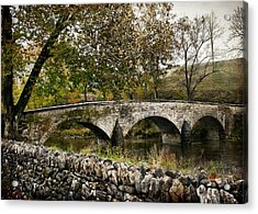 Burnside's Bridge Over Antietam Creek Acrylic Print by Kathleen Scanlan