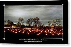 Antietam Panorama Acrylic Print