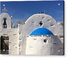 Antiparos Island Greece  Acrylic Print