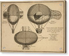 Antique Aeronautics Acrylic Print