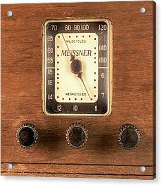 Antique Radio Acrylic Print