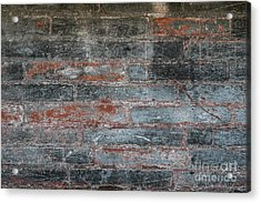 Acrylic Print featuring the photograph Antique Brick Wall by Elena Elisseeva