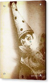 Antique Carnival Doll Acrylic Print by Jorgo Photography - Wall Art Gallery