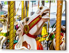 Antique Carrousel Horse Ride Acrylic Print