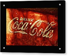 Antique Coca-cola Cooler II Acrylic Print