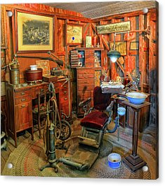 Antique Dental Office Acrylic Print
