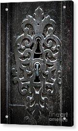 Antique Door Lock Acrylic Print