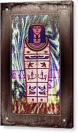 Antique Egyptian Magic Acrylic Print by Ian Gledhill