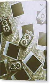 Antique Film Photography Fun Acrylic Print