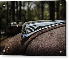 Acrylic Print featuring the photograph Antique Hood Ornament by Kim Hojnacki