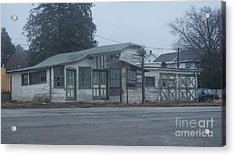 Antique Refueling Station   # Acrylic Print