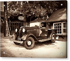 Antique Road Warrior - 1935 Dodge Acrylic Print by Glenn McCarthy Art and Photography