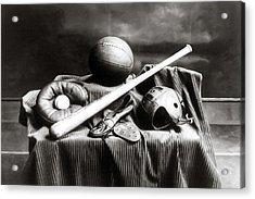 Antique Sports Equipment - American Athletics Acrylic Print