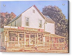 Antique Store, Colonial Beach Virginia Acrylic Print